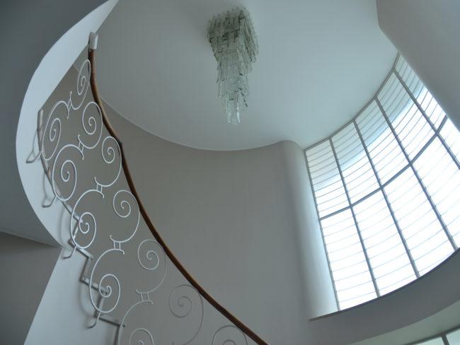 Tinteggiatura androne scala, abitazione privata
