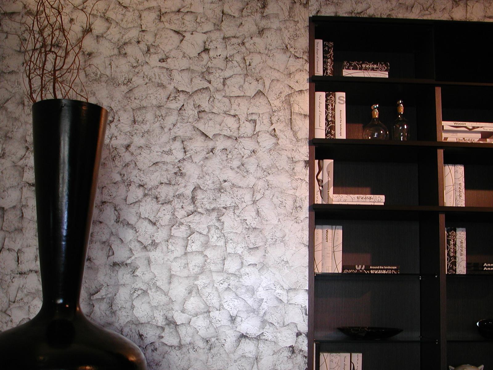 Foglia argento effetto stropiccio, esposizione, Monza e Brianza