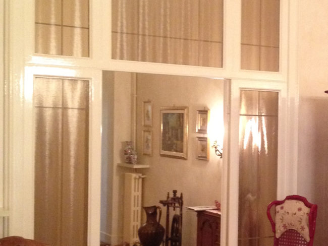 Ripristino infissi, abitazione privata, Milano