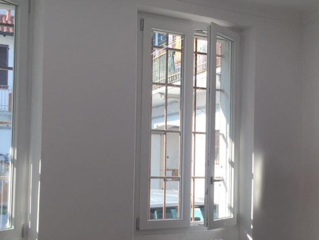 Ripristino serramenti, abitazione privata, Milano